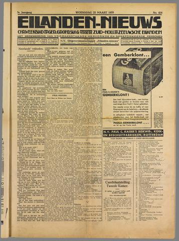 Eilanden-nieuws. Christelijk streekblad op gereformeerde grondslag 1933