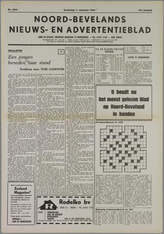 Noord-Bevelands Nieuws- en advertentieblad 1980-09-11