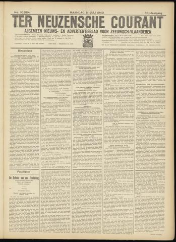 Ter Neuzensche Courant. Algemeen Nieuws- en Advertentieblad voor Zeeuwsch-Vlaanderen / Neuzensche Courant ... (idem) / (Algemeen) nieuws en advertentieblad voor Zeeuwsch-Vlaanderen 1940-07-08