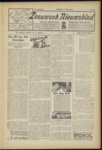 Zeeuwsch Nieuwsblad/Wegeling's Nieuwsblad 1935-05-17