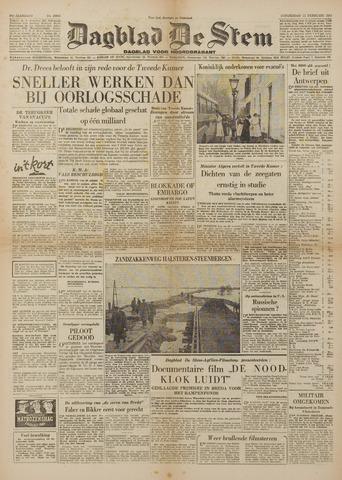 Watersnood documentatie 1953 - kranten 1953-02-12