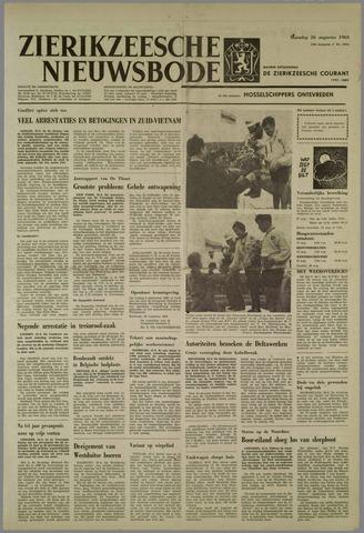 Zierikzeesche Nieuwsbode 1963-08-26