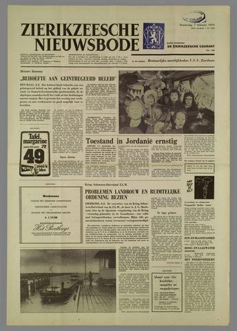Zierikzeesche Nieuwsbode 1974-02-07