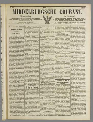 Middelburgsche Courant 1906-01-18