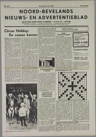 Noord-Bevelands Nieuws- en advertentieblad 1985-07-18