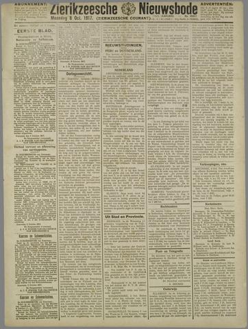 Zierikzeesche Nieuwsbode 1917-10-08