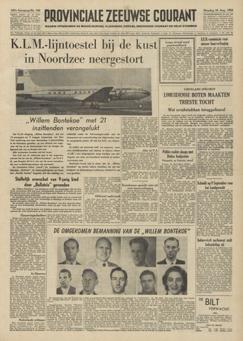 Provinciale Zeeuwse Courant 1954-08-24