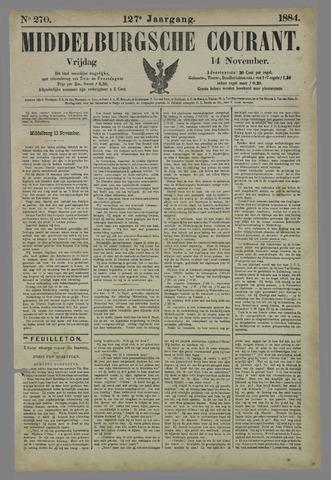 Middelburgsche Courant 1884-11-14