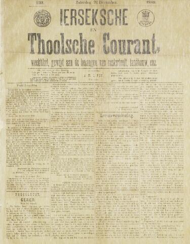 Ierseksche en Thoolsche Courant 1889-12-21