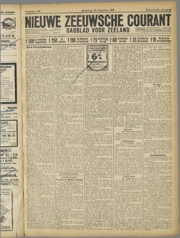 Nieuwe Zeeuwsche Courant 1921-08-29