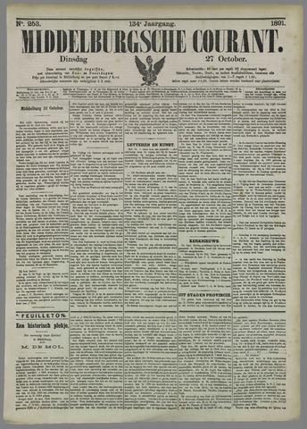 Middelburgsche Courant 1891-10-27