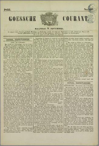 Goessche Courant 1852-11-08
