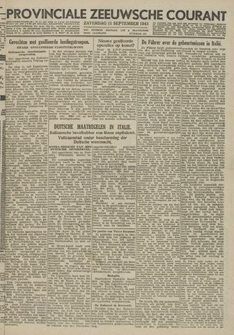 Provinciale Zeeuwse Courant 1943-09-11