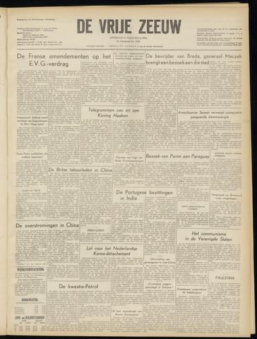 de Vrije Zeeuw 1954-08-17