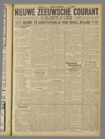 Nieuwe Zeeuwsche Courant 1924-10-21