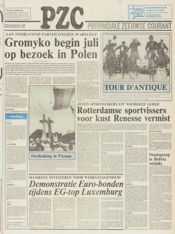 Provinciale Zeeuwse Courant 1981-06-29