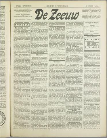 De Zeeuw. Christelijk-historisch nieuwsblad voor Zeeland 1934-09-08