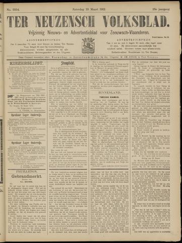 Ter Neuzensch Volksblad. Vrijzinnig nieuws- en advertentieblad voor Zeeuwsch- Vlaanderen / Zeeuwsch Nieuwsblad. Nieuws- en advertentieblad voor Zeeland 1912-03-23