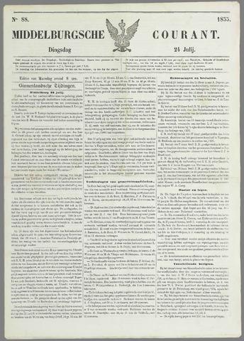 Middelburgsche Courant 1855-07-24
