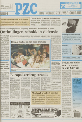 Provinciale Zeeuwse Courant 1995-06-27