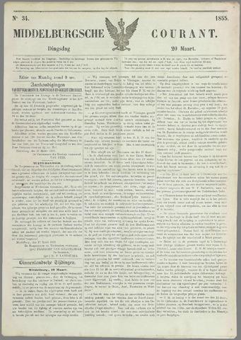 Middelburgsche Courant 1855-03-20