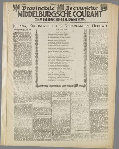 Middelburgsche Courant 1937-01-07