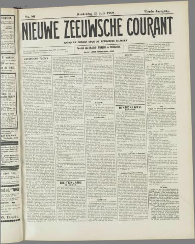 Nieuwe Zeeuwsche Courant 1908-07-23