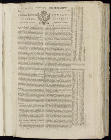 Middelburgsche Courant 1801-06-06