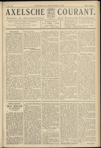 Axelsche Courant 1934-10-02