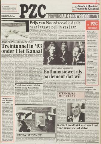 Provinciale Zeeuwse Courant 1986-01-21
