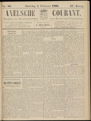 Axelsche Courant 1906-02-03