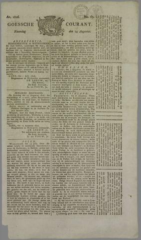 Goessche Courant 1826-08-14