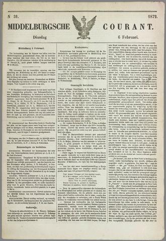 Middelburgsche Courant 1872-02-06