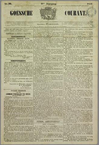 Goessche Courant 1854-12-18