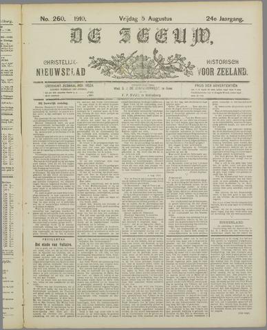 De Zeeuw. Christelijk-historisch nieuwsblad voor Zeeland 1910-08-05