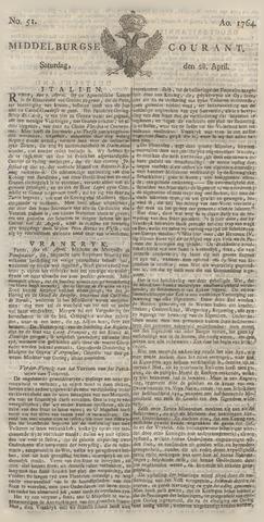 Middelburgsche Courant 1764-04-28