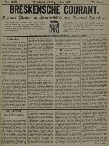 Breskensche Courant 1911-09-27