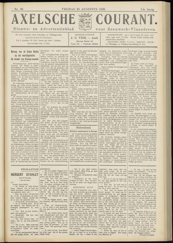 Axelsche Courant 1939-08-25