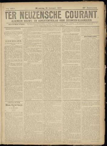 Ter Neuzensche Courant. Algemeen Nieuws- en Advertentieblad voor Zeeuwsch-Vlaanderen / Neuzensche Courant ... (idem) / (Algemeen) nieuws en advertentieblad voor Zeeuwsch-Vlaanderen 1929-01-21
