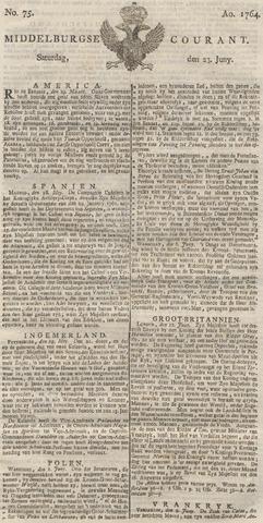 Middelburgsche Courant 1764-06-23