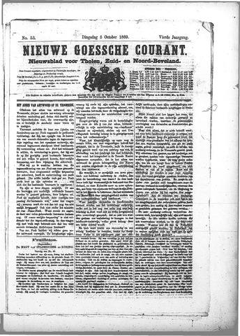 Nieuwe Goessche Courant 1869-10-05