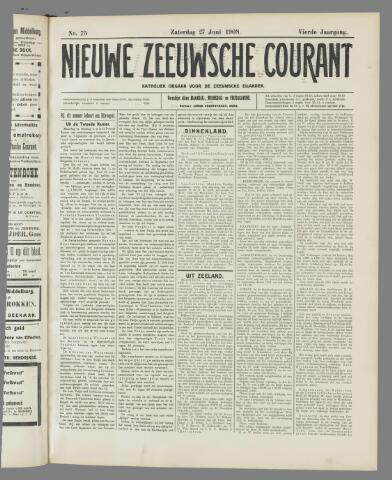 Nieuwe Zeeuwsche Courant 1908-06-27