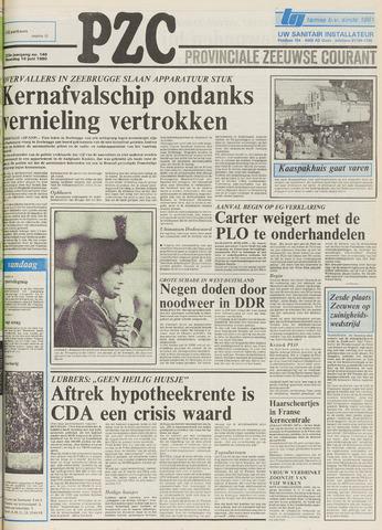 Provinciale Zeeuwse Courant 1980-06-16