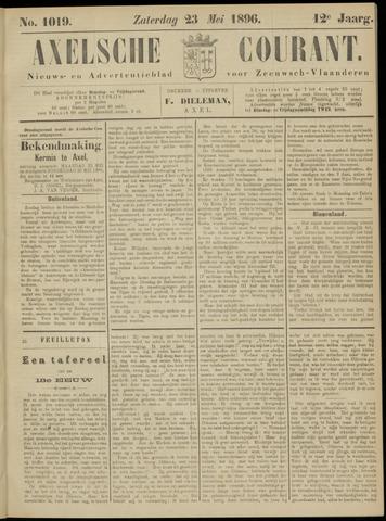 Axelsche Courant 1896-05-23