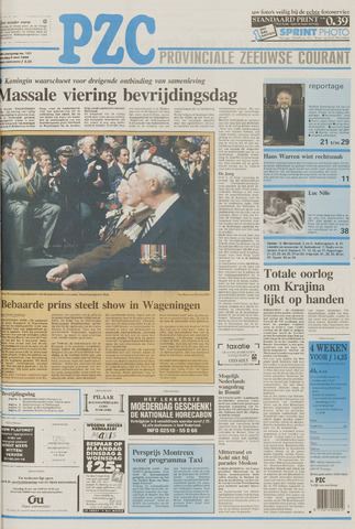 Provinciale Zeeuwse Courant 1995-05-06