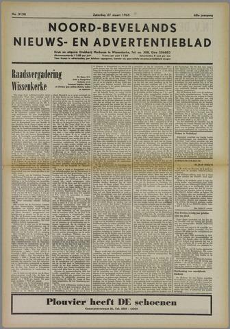 Noord-Bevelands Nieuws- en advertentieblad 1965-03-27