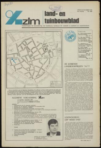Zeeuwsch landbouwblad ... ZLM land- en tuinbouwblad 1975-11-28