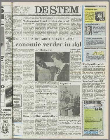 de Stem 1987-05-09