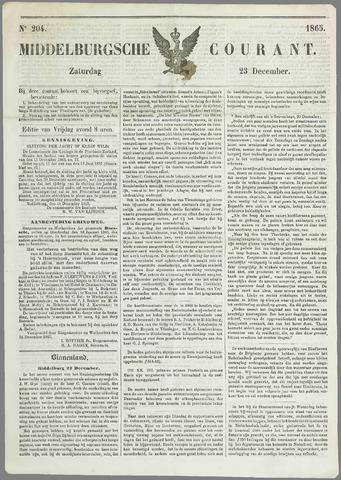Middelburgsche Courant 1865-12-23