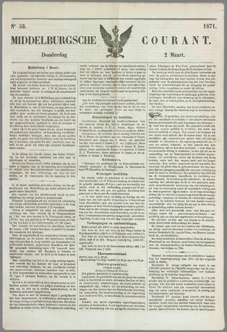 Middelburgsche Courant 1871-03-02